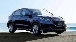Honda will bring a version of its Vezel,