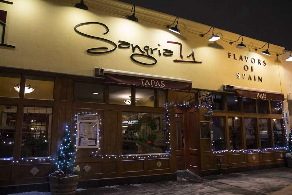 Sangria 71, a restaurant serving tapas and Spanish