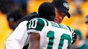 MISS: APPOINTING SANTONIO HOLMES CAPTAIN IN 2011 Holmes