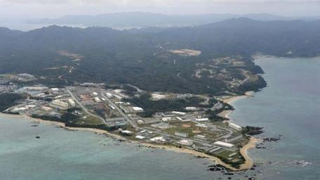 Henoko of Nago city on southern Japanese islands