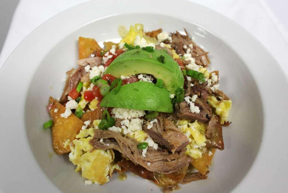 Flavorful hot chilaquiles are a jumpstart to your