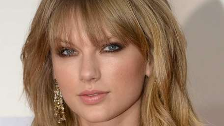 Singer Taylor Swift came in first in a
