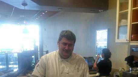 Above, Chef Stuart Brown of the new Mac