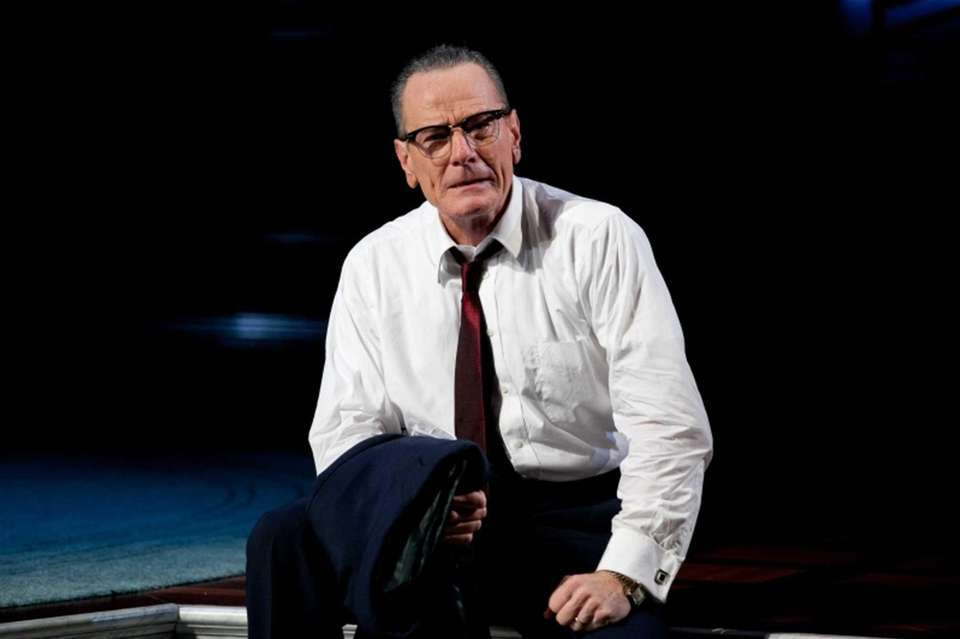 Bryan Cranston portrayed Lyndon B. Johnson during his