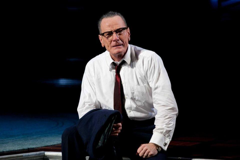Bryan Cranston portrayed Lyndon B. Johnson during his