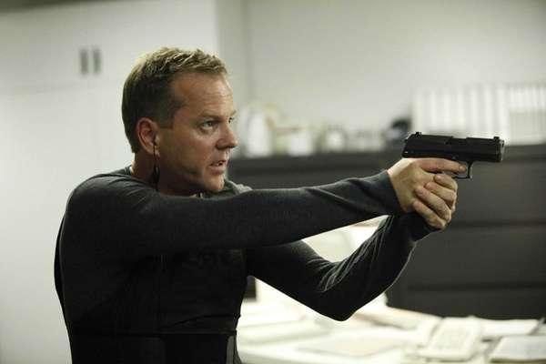 "Jack (Kiefer Sutherland) faces ""24."""