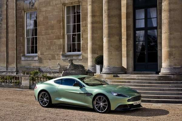 The Aston Martin Vanquish is the pinnacle of