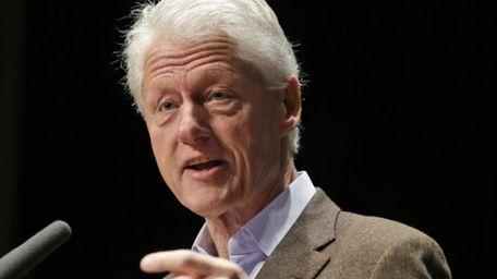 Bill Clinton will swear in New York City's
