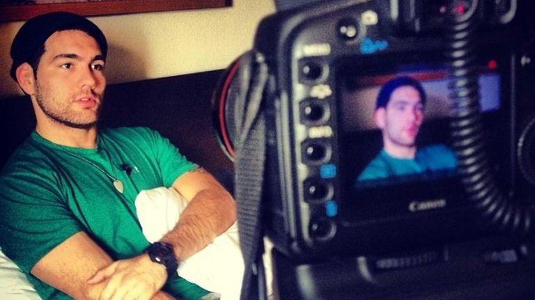 UFC middleweight champion Chris Weidman speaks to Newsday