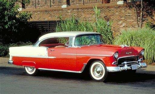 The 1955 Bel Air wonderfully redefined Chevrolet, with