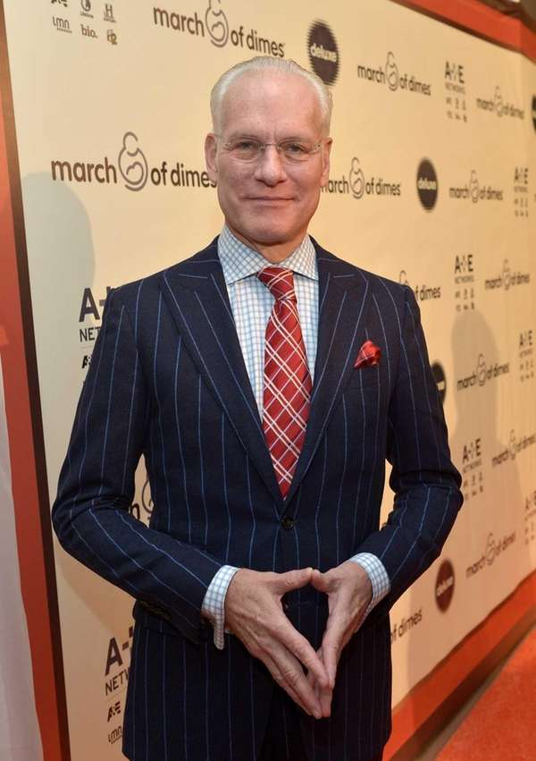 """Under the Gunn"" host Tim Gunn attends the"
