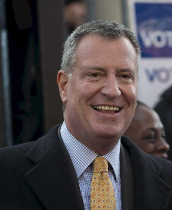 Incoming Mayor Bill de Blasio, Public Advocate Letitia