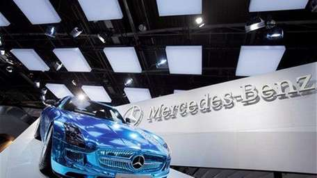 The Mercedes SLS AMG Electric Sports Car is