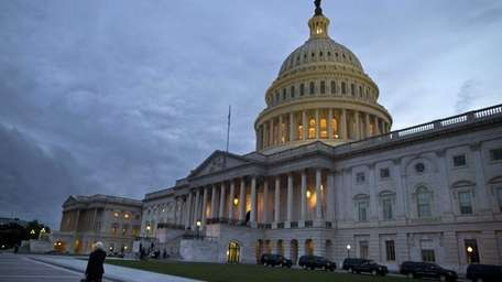 The lights are on, but Congress has left