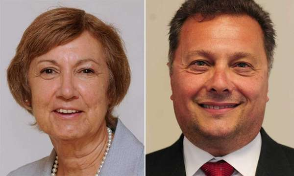 Brookhaven Town Board incumbent Connie Kepert and challenger