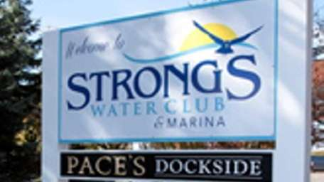 Pace's Dockside is at Strong's Water Club &