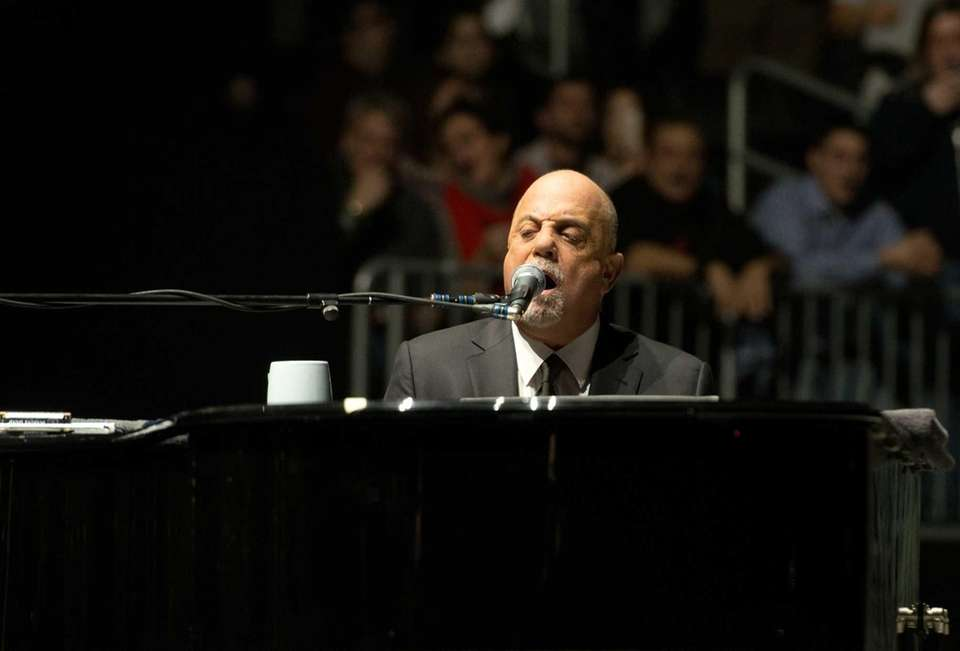 Billy Joel performs at Barclays Center. Joel launched