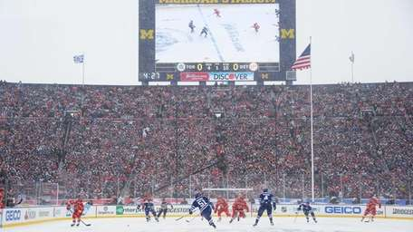 The Detroit Red Wings and the Toronto Maple