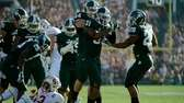 Cornerback Darqueze Dennard of the Michigan State Spartans