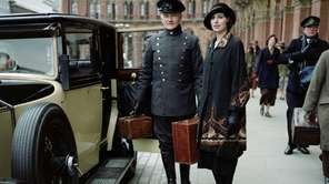 Laura Carmichael as Lady Edith in a scene