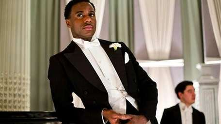 Gary Carr as Jack Ross in a scene