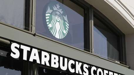 A Starbucks Coffee store on the Embarcadero in