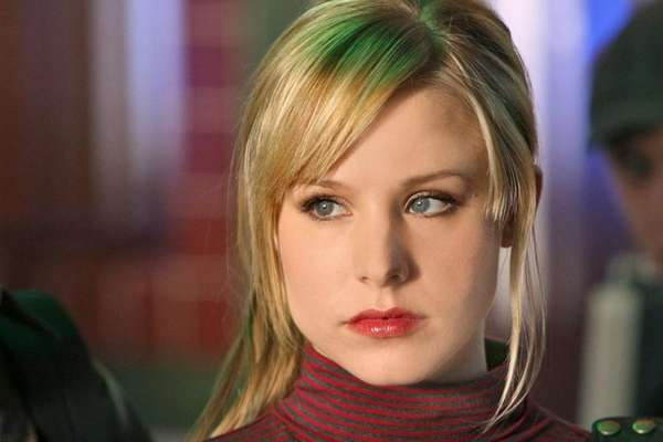 Kristen Bell as TV-turned-movie heroine Veronica Mars.