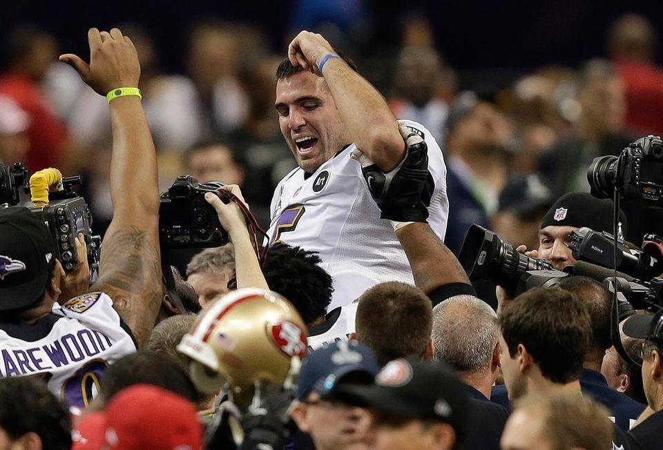 Quarterbacks have won 29 Super Bowl MVPs, the