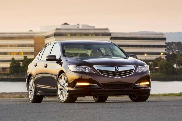 The 2014 Acura RLX Sport Hybrid SH-AWD highlights