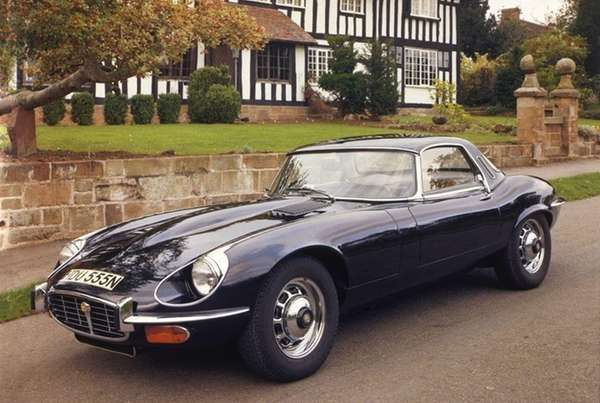 The Jaguar XK-E was first introduced in 1961.