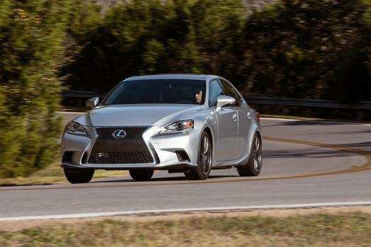 The 2014 Lexus IS 350 AWD gets just