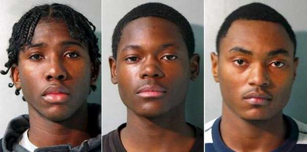 Nicholas Gardner, Deshawn Martin and Cecil Brothers, all
