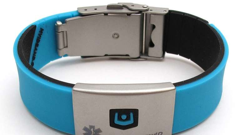 Gadget Watch Qr Code Myid Medical Id Bracelet