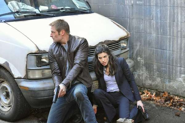 Josh Holloway and Meghan Ory in the CBS