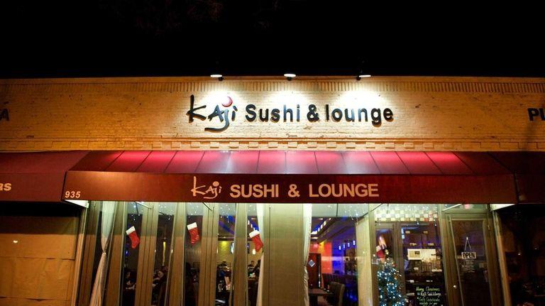 Kaji Sushi & Lounge, a sleek and modern
