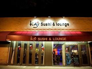 Kaji Sushi & Lounge, a sleek and modern