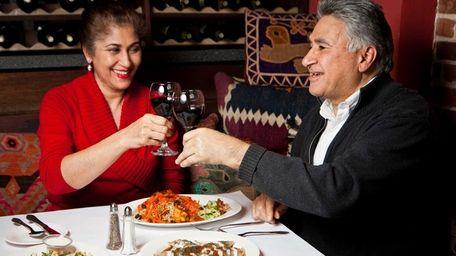 Restaurant owners Nazifa Rahimi and husband Ali Rahimi