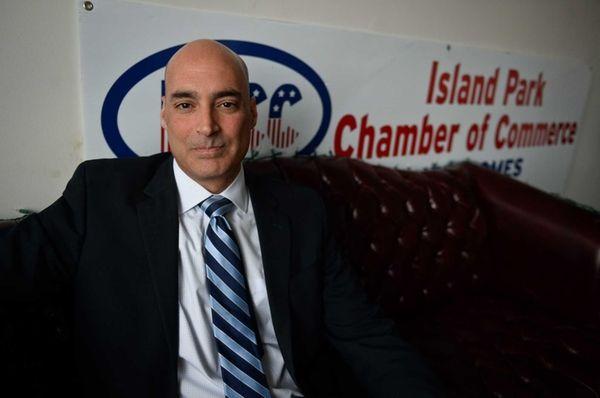 Glenn Ingoglia, president of the Island Park Chamber