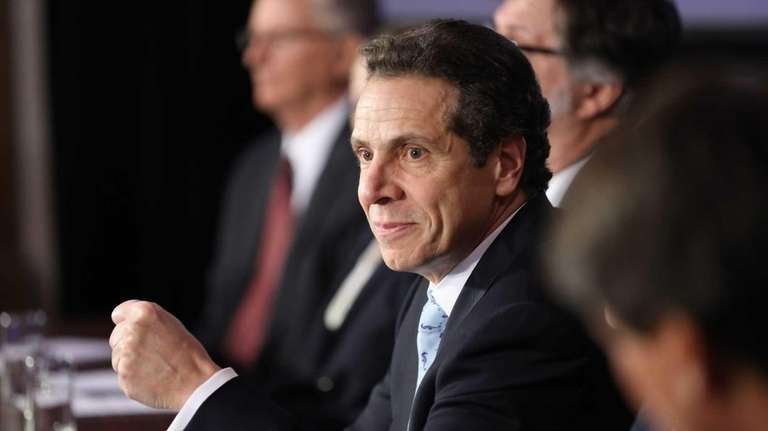Gov. Andrew M. Cuomo outlines his plan to