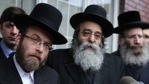 Abraham Buxbaum, brother in law of slain Menachem