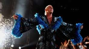 Ric Flair is shown here in 2009 during