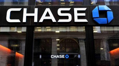 A branch of JPMorgan Chase bank in Manhattan.