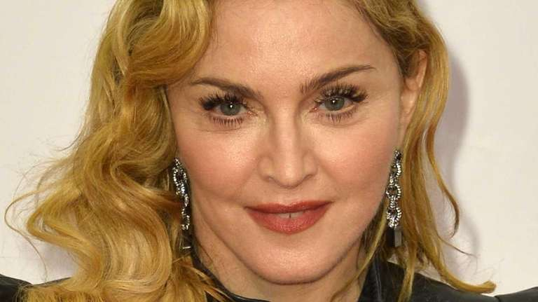 Madonna on the red carpet on the opening