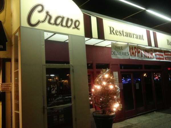 Crave in Port Washington has closed. (January, 2013)