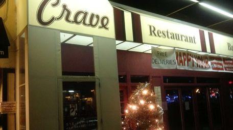 Crave in Port Washington has closed. (January, 2013)