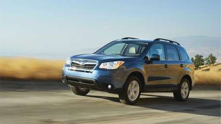The 2014 Subaru Forester has a starting price