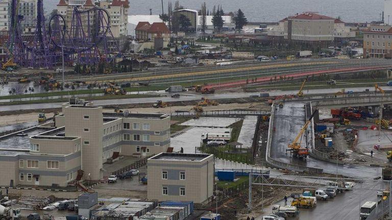 Russia began implementing stringent security measures in Sochi,
