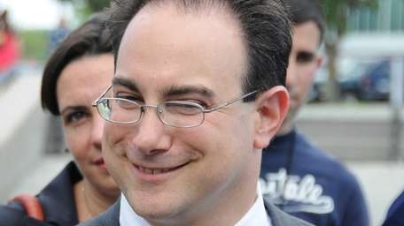 Martin Tankleff with a smile on his face,