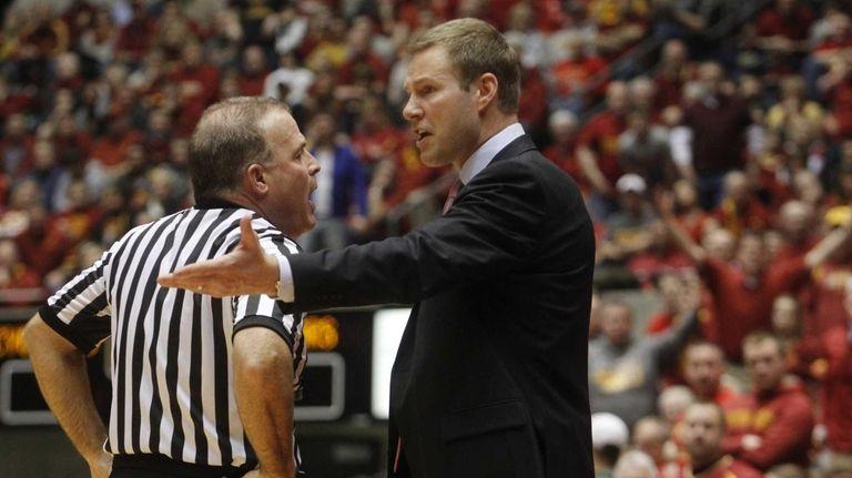 Head coach Fred Hoiberg of the Iowa State