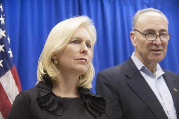 Sens. Kirsten Gillibrand and Charles Schumer are among